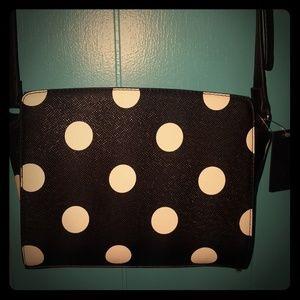 Apt 9- Small Polka Dot Crossbody Bag